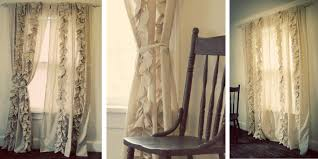 How To Make Ruffled Curtains Tutorial Ruffled Pleated Curtains Anthropologie Knockoff Update