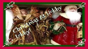 Hobby Lobby Christmas Deer Decor by Christmas Decor Shopping At Hobby Lobby Pt 1 2017 Youtube