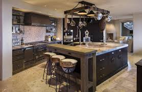 Large Kitchen Island Designs Kitchen Large Custom Kitchen Island With Built In Sink Design