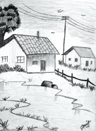 Related Keywords Suggestions For I - simple landscape drawing for kids easy landscapes to draw simple