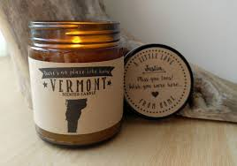 vermont scented candle missing home homesick gift moving gift new