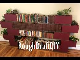 Easy To Build Bookshelf How To Make A Bookshelf With No Nails Or Screws By Roughdraft