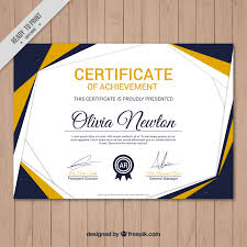 compilation 10 free certificate templates