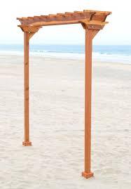 arbor wood trellis two post custom kit duchess outlet