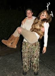 Costume For Halloween Deer And Hunter Couples Costume For Halloween With Better Deer