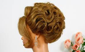 wedding hairstyle for long hair tutorial bridal updo youtube