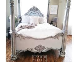 Vintage King Bed Frame Antique Bed Etsy