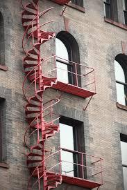 description chicago board of trade fire escape stairs jpg