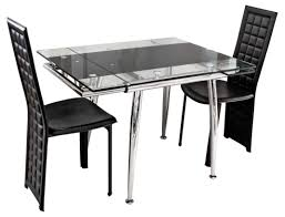 20 ways to glass dining table with extension