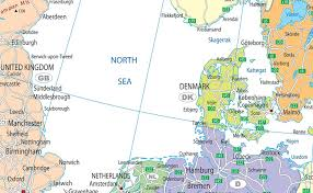 map of n europe northern europe political map i maps