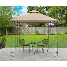 Outdoor Patio Canopy Gazebo by Aleko 10 X 10 Feet Grape Trellis Pergola Outdoor Canopy Gazebo