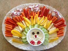 thanksgiving vegetable tray holladays veggies