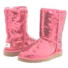 ugg boots australia pink pink sequin uggs boots ebay