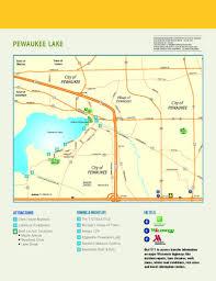 Wisconsin Lake Maps Maps Visit Waukesha Pewaukee