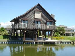 affordable waterfront west end canal house jamaica beach texas