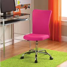 desk chair for teenage bedroom pink swivel chair desk for teen mixed white painted wall