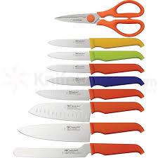 furi rachael ray 6 piece gusto grip 10 piece kitchen block set