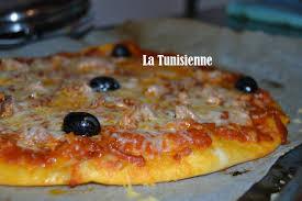 recette de cuisine tunisienne facile et rapide en arabe pizza au thon à la tunisienne