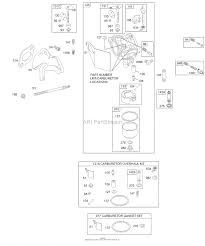 briggs and stratton 192402 1100 e1 parts diagram for carburetor