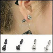 ear earrings online cheap stud earrings lag spike ear stud dangler
