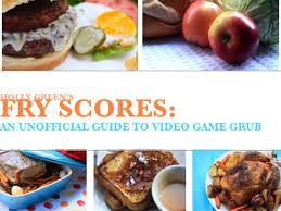 jeux de recette de cuisine fry scores le livre de cuisine des jeux vidéo lui
