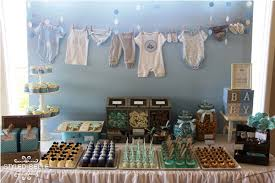 Vintage Baby Boy Shower Ideas