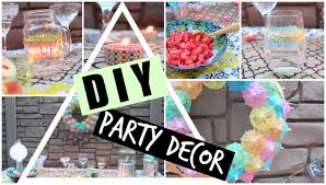 Summer Party Decorations Diy Pinterest Inspired Summer Party Decor Youtube