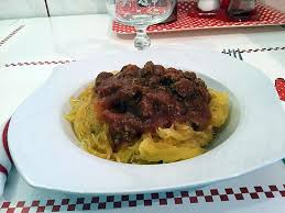 comment cuisiner une courgette spaghetti recette de courge spaghetti bolognaise au cookeo