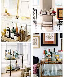 furniture various fantastic mini bar cart design for home party