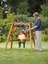 baby swing swing set plum wooden baby swing ideal swing set for young toddlers to enjoy