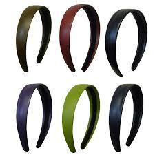 number 1 headband 1 inch wide leather like headband hair bands headbands