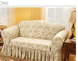 shabby chic sofa covers sure fit shop by room shabby chic