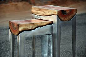 cool furniture from wood and metal of hilla shamia interior