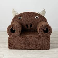 Brown Leather Bean Bag Chair Baby Sofa Chair Kids Leather Chair Bean Bag Chairs For Kids Baby