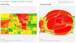 colorado population map us colorado map county population density maps