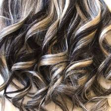 dark brown hair with blond highlights image detail for blonde lowlights dark brown hair with