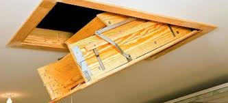 how to install pull down attic stairs doityourself com