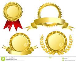 gold ribbons template award ribbon template gold ribbons award