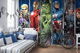 chambre marvel marvel wallpaper mural for boys bedroom heroes