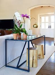Decorating A Sofa Table Behind A Couch Console Table Behind Sofa Design Ideas