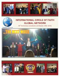 2016 international circle of faith icof manual by life network