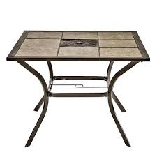 tile top patio table and chairs tile top patio dining table maxqualy site