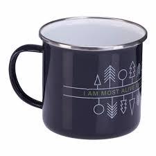 best mugs best selling custom logo printing stainless steel rim enamel mug