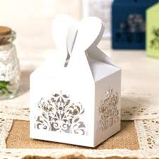 wedding favor boxes wholesale white wedding favor boxes white heart laser cut wedding favor