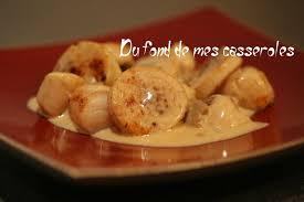 cuisiner du boudin blanc noix de jacques et boudins blancs sauce au foie gras du