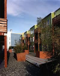 Interior Courtyard David Baker Architects Soma Residences