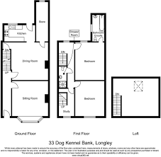 Kennel Floor Plans by 2 Bedroom Terraced House For Sale In 33 Dog Kennel Bank Longley