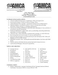 medical billing resume job description for medical billing resume