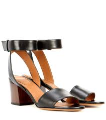 givenchy paris leather sandals black women cxaidzg8 603