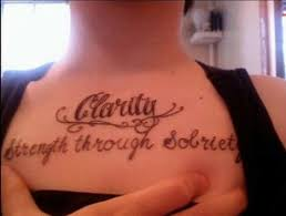 tattoo ideas quotes on addiction sobriety recovery rehab and